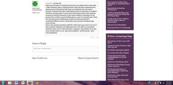 OMICS blog spam