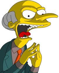 Mr Burns the Archaeologist
