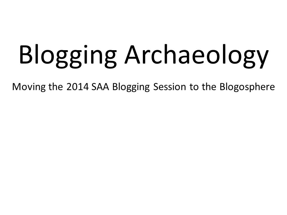 archaeology blog carnival